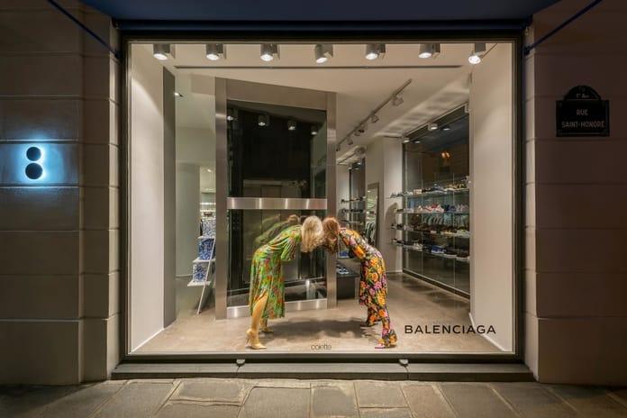 A Balenciaga store in Paris