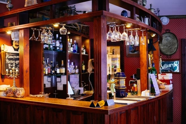 Fig. 3. Wooden bar counter